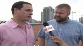 Дейвид Алпърт и Робърт Киркман - Comic Con